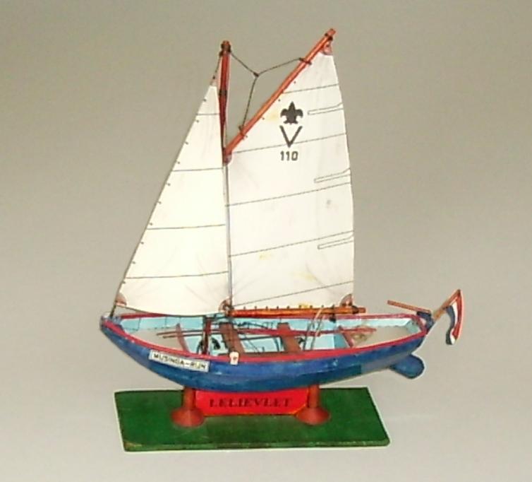 Halloween Bouwplaten.Papermau Lelievlet Fishing Boat By Elfrink Bouwplaten